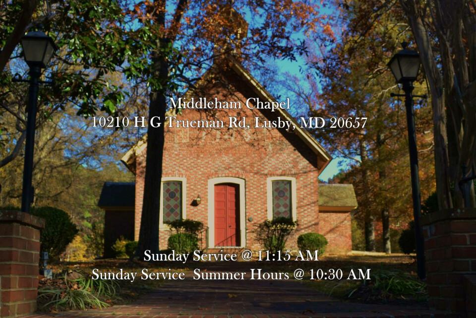 Middleham Chapel Holy Eucharist Service