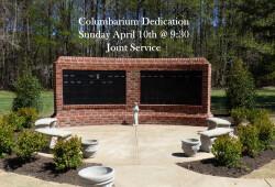 columbarium dedication 2016