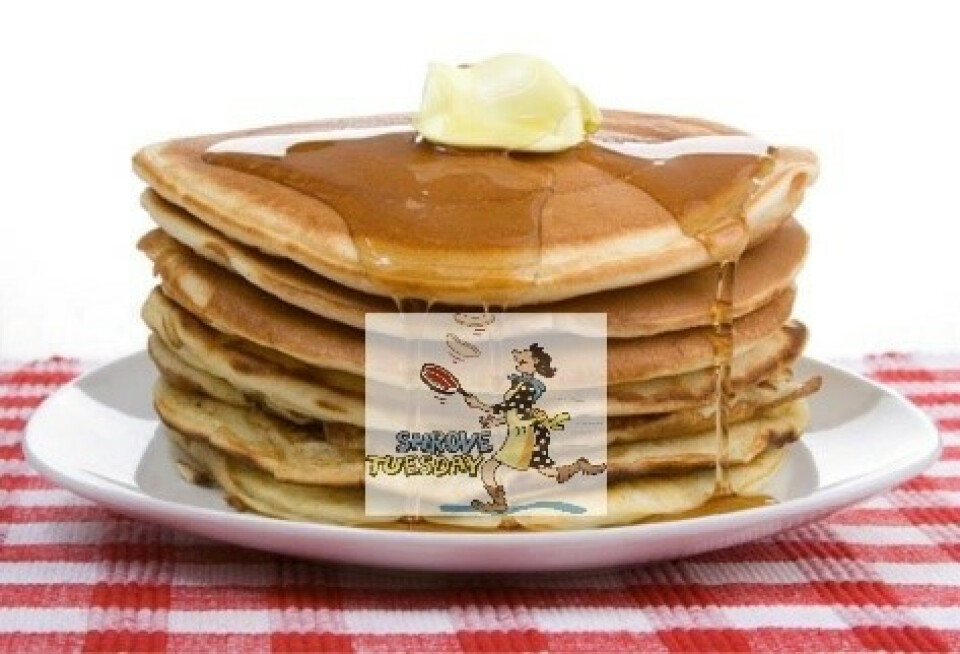 Shrove Tuesday - Pancake Supper 2018