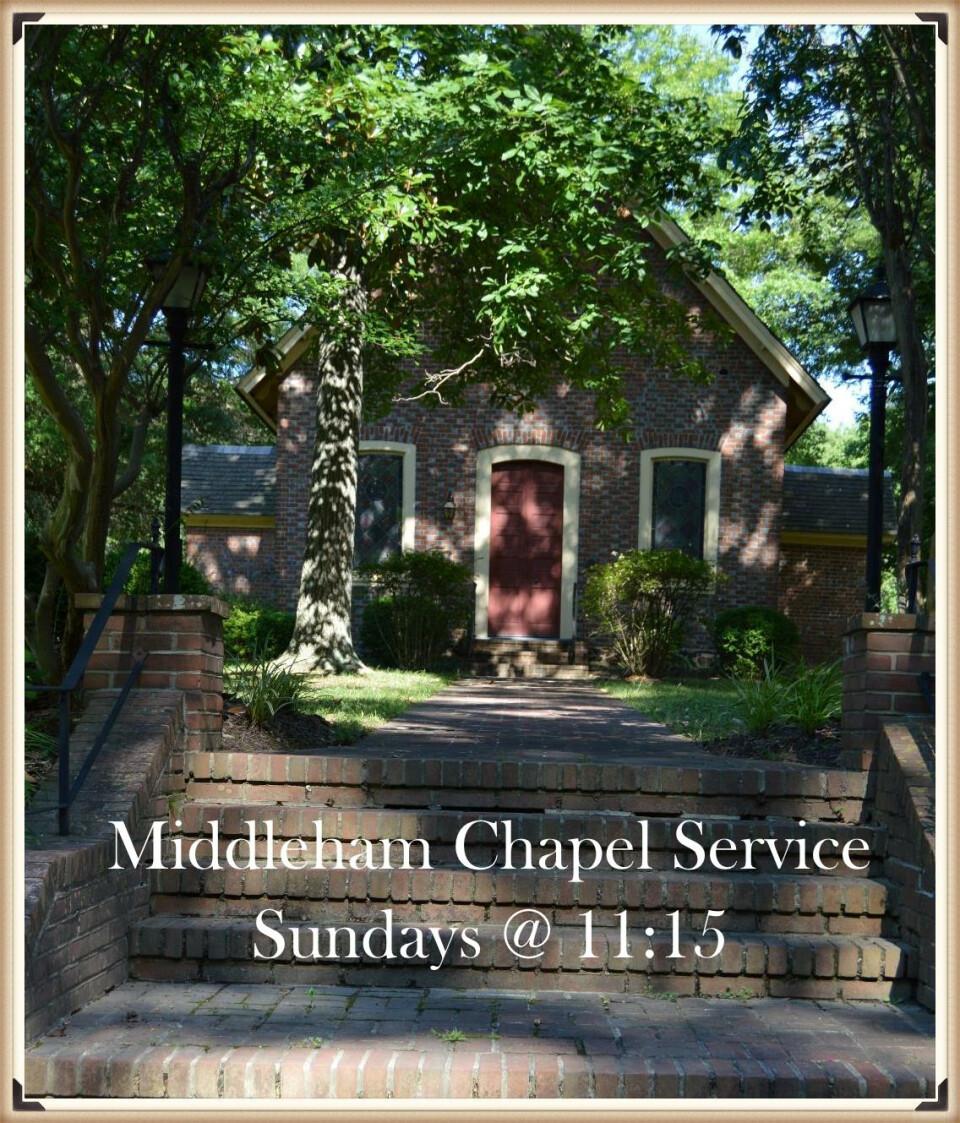 Middleham Chapel Holy Eucharist Service - 11:15 AM