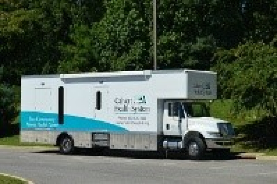 Health Van -  Sponsored by Calvert Memorial Hospital