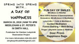 Spring into Spring with A Day Of Happiness