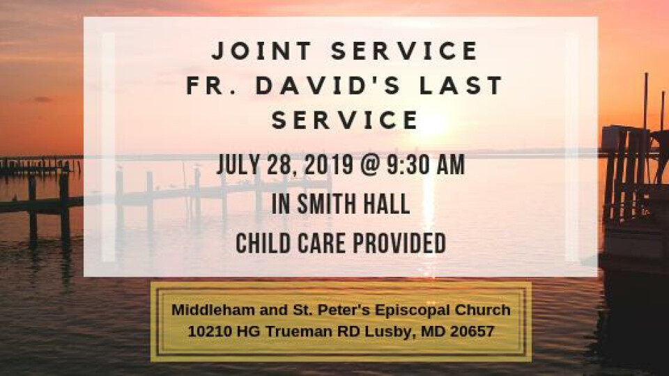 Joint Service Fr. David