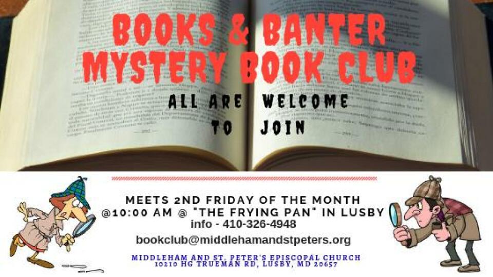 """Books & Banter Mystery Book Club"""