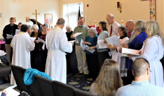 Lay Pastoral Visitors Group Commissioned