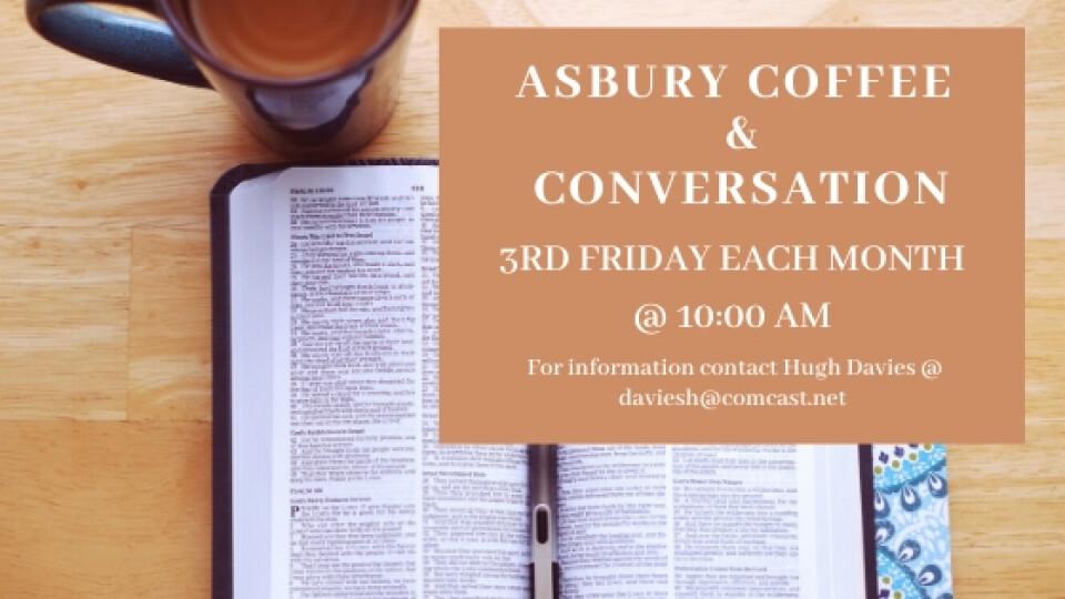 Online Asbury Coffee & Conversation