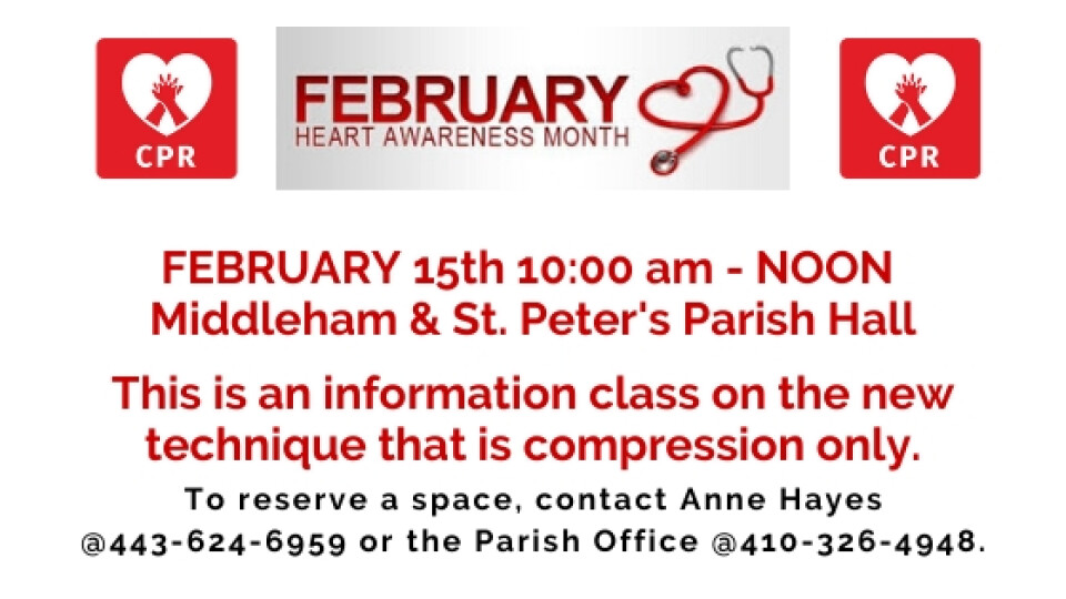"""Hands-Only"" CPR Informational Class"