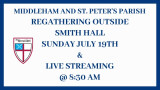 LIVE STREAMING  - Holy Eucharist Service at 8:30 AM