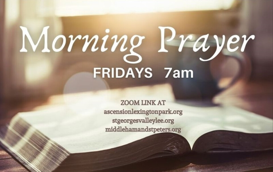 Friday Morning Prayer Online @ 7 AM