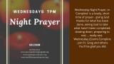 Online Night Prayer Compline @ 7:00 PM