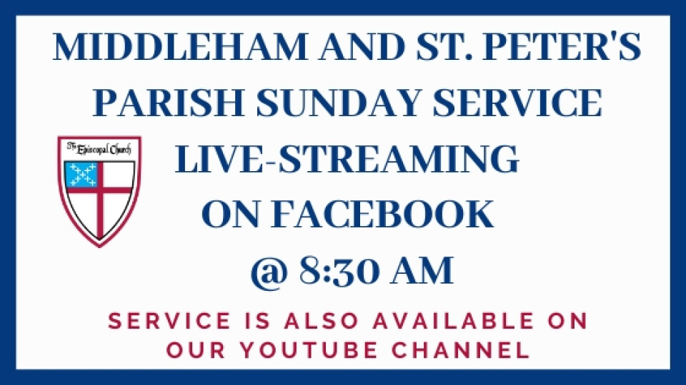 LIVE STREAMING  - Sunday Service at 8:30 AM