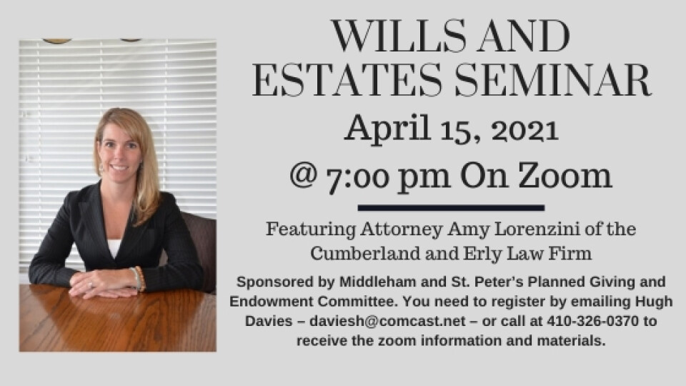 Wills and Estates Seminar